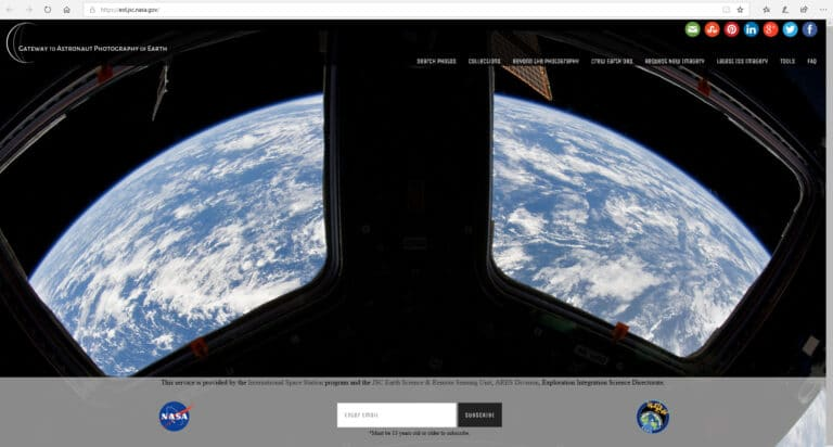 Gateway to Astronaut Photography of Earth