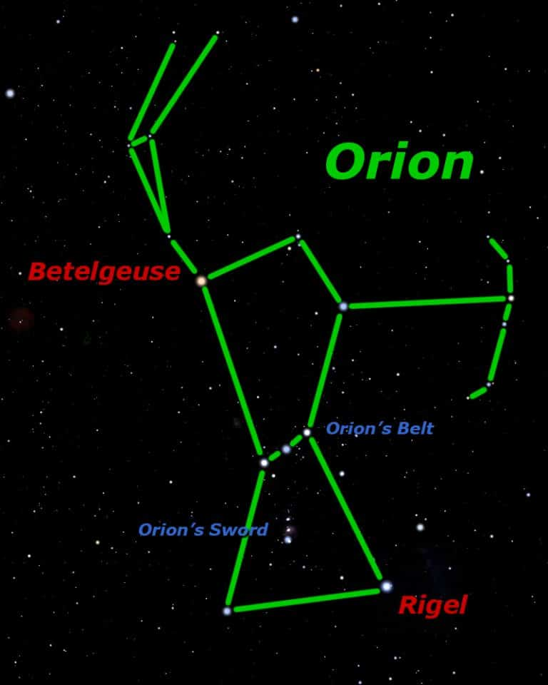 Orion the Hunter – King of the Winter Sky