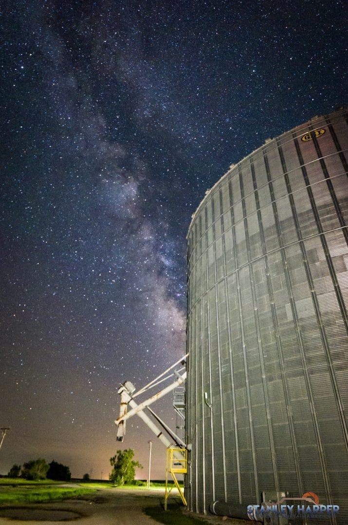 Grain Elevator Milky Way