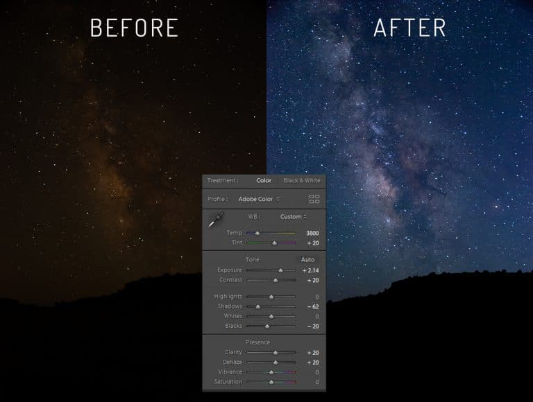 Milky Way Photography for Beginners – Post Processing