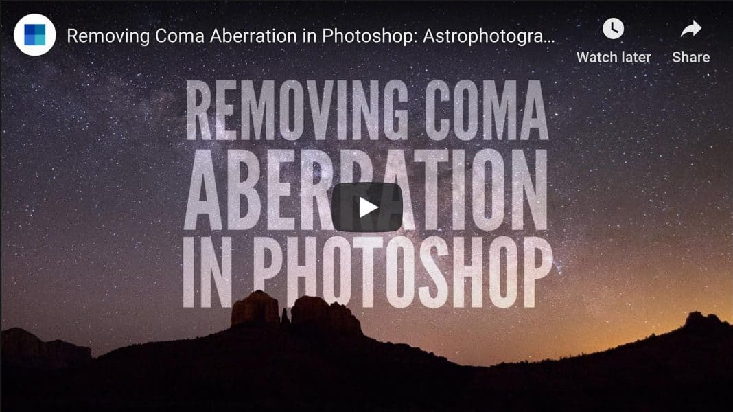 How to Remove Coma Aberration From Your Astro Images. Using Photoshop to Correct Coma in Post-Processing