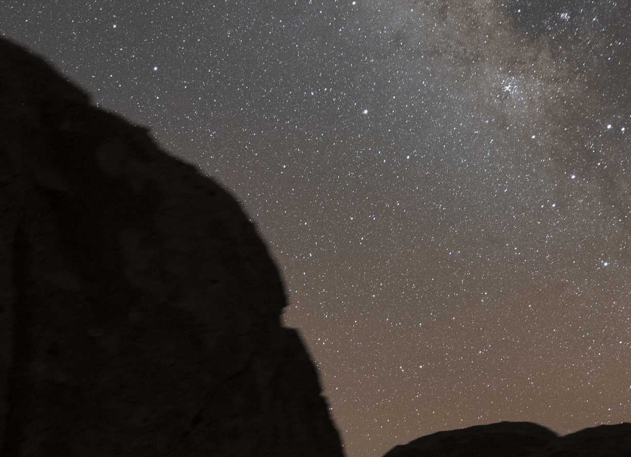 When using Astrotracer, foregrounds always come out blurry, requiring you to shoot the ground separately.