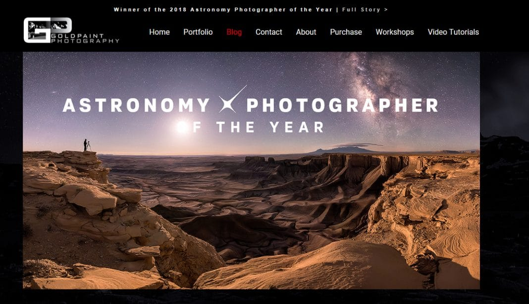 Brad Goldpaint - Transport the Soul, Astronomy Photographer of the Year 2018
