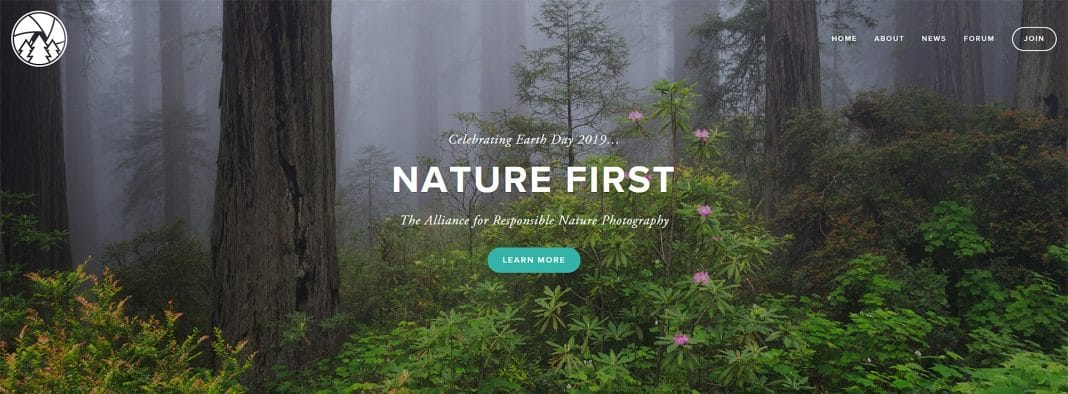 NatureFirstPhotography.org Home Page