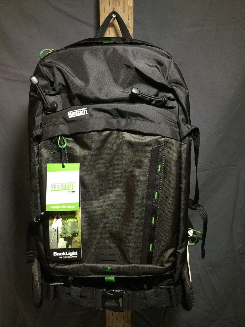 Mindshift BackLight 36L Camera Bag.