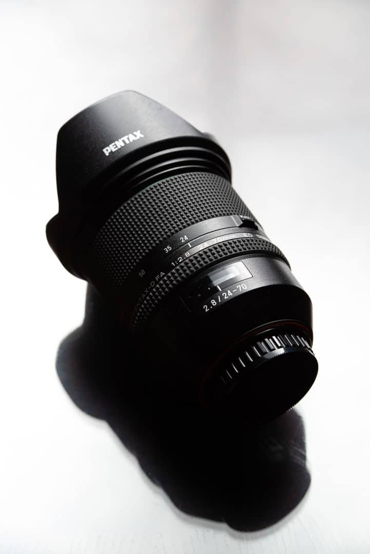 The Tamron/Pentax D FA 24-70mm f/2.8 ED SDM WR is known for good sharpness regardless of aperture or focal length. Prime or Zoom?