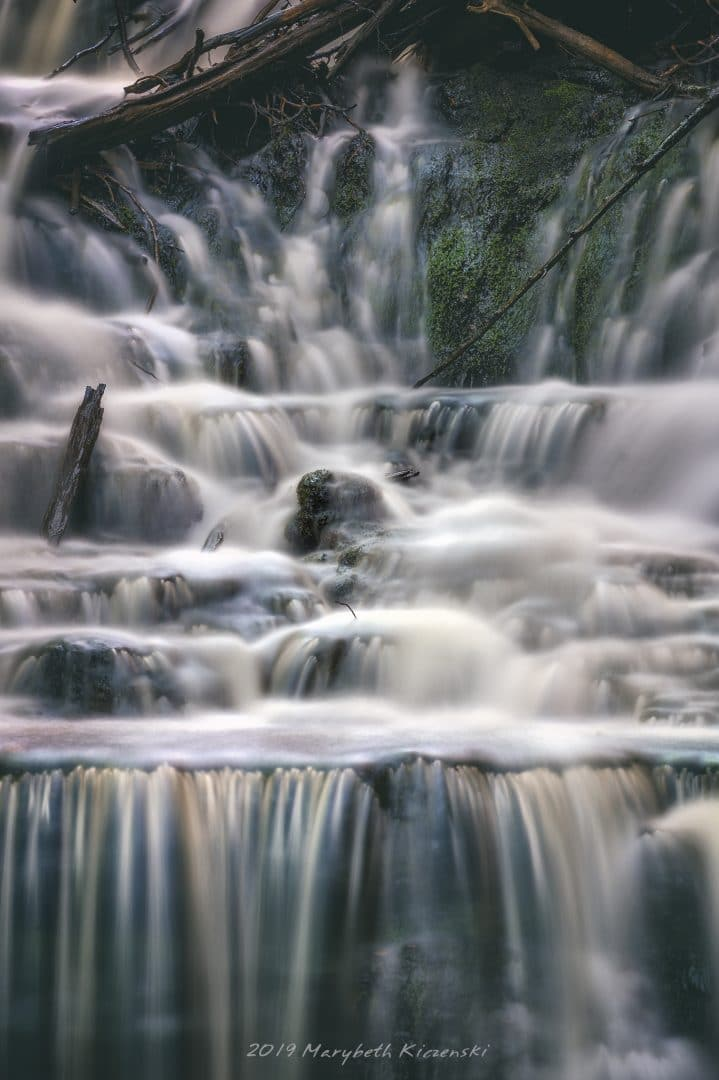 """A 6ND (Neutral Density) Filter used during the day to allow for a long exposure.  This """"trick"""" creates a soft and silky water flow.  From MilkyWayPhotographers.com, """"Top Milky Way Photography Tricks That Aren't Tricks!"""" Photo Credit: MaryBeth Kiczenski"""