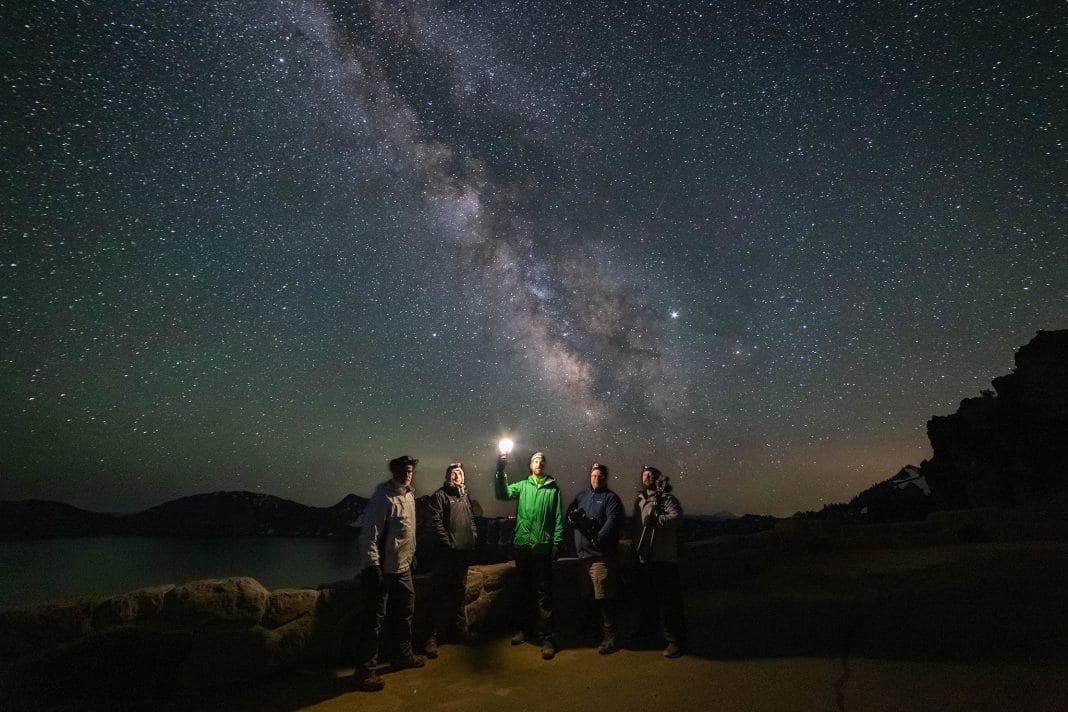 Group Photo at Crater Lake