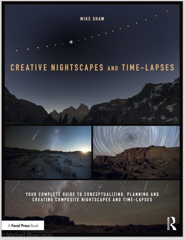 Creative Nightscapes and Time-Lapses by Mike Shaw – Book Review