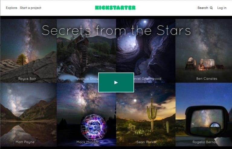 Secrets from the Stars – A Kickstarter Book