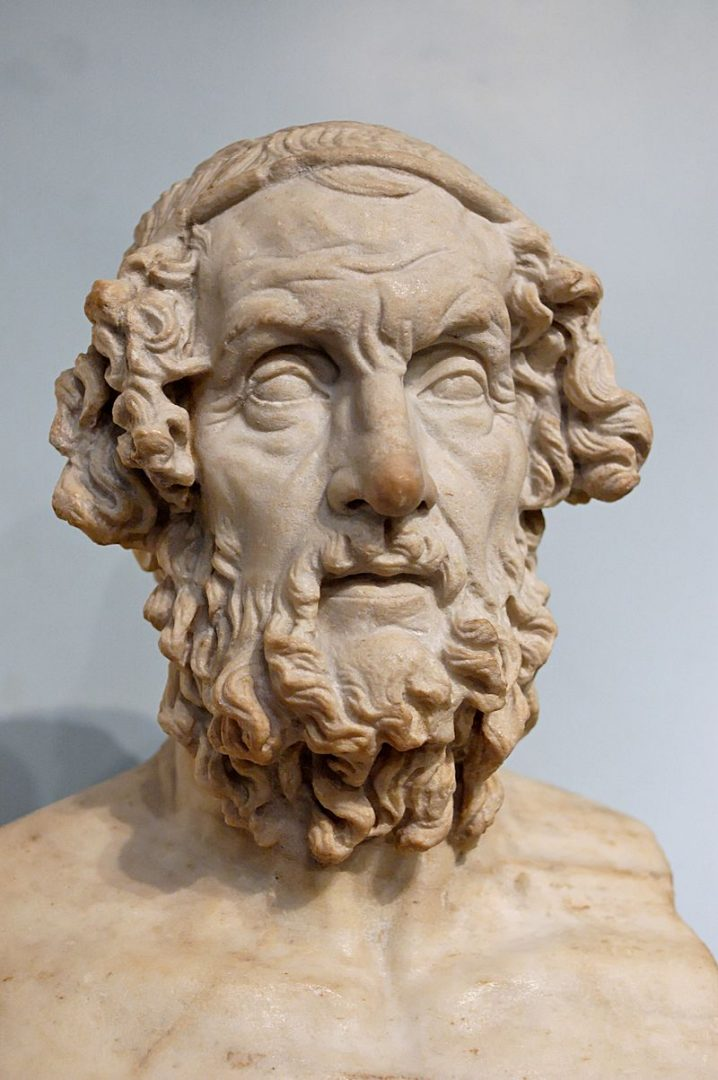 Unknown, Bust Homer BM 1825, marked as public domain, more details on Wikimedia Commons