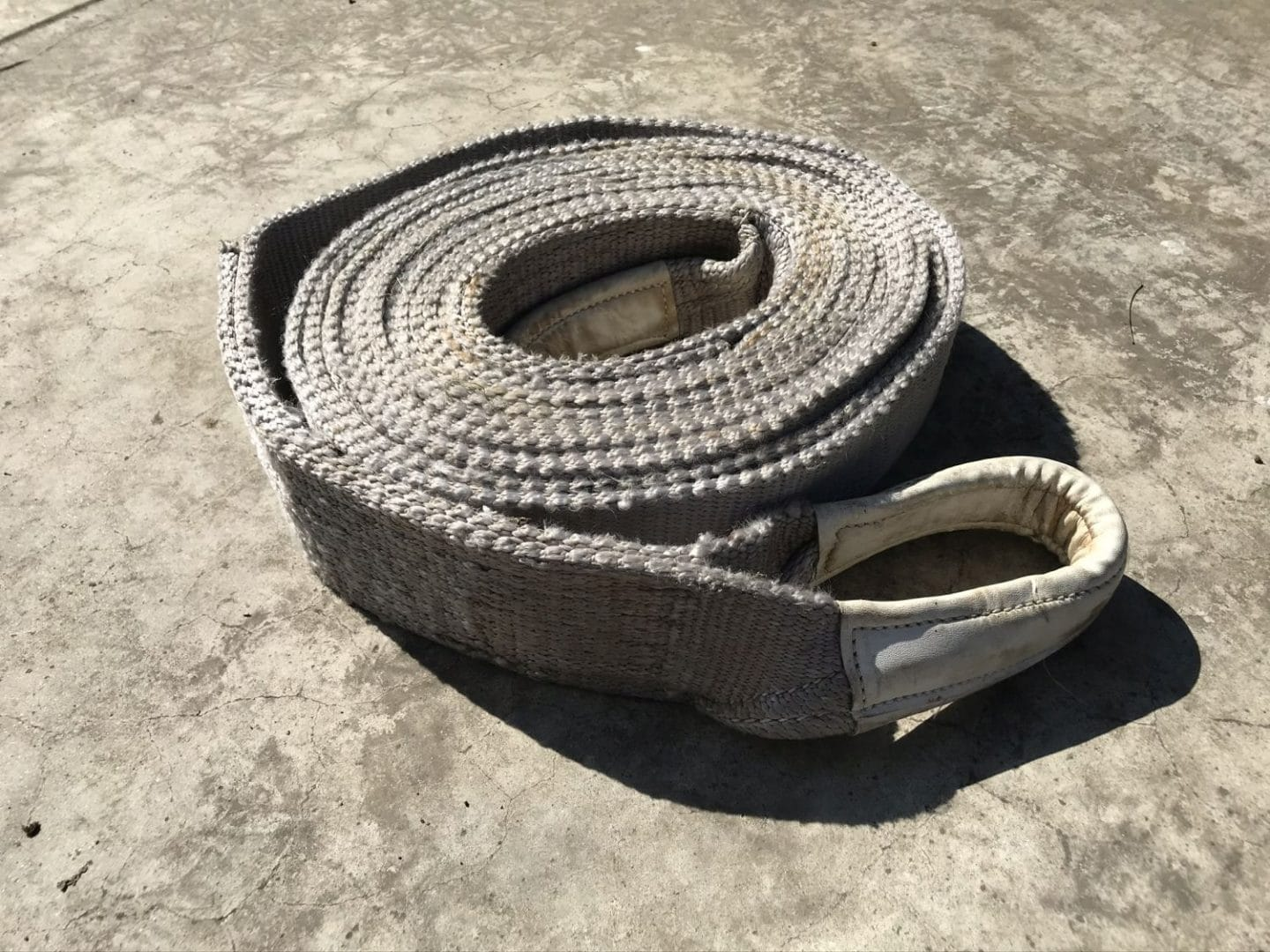 Tow Rope Photo From Milky Way Photography Safety and Security Tips, Copyright 2020 Stanley Harper