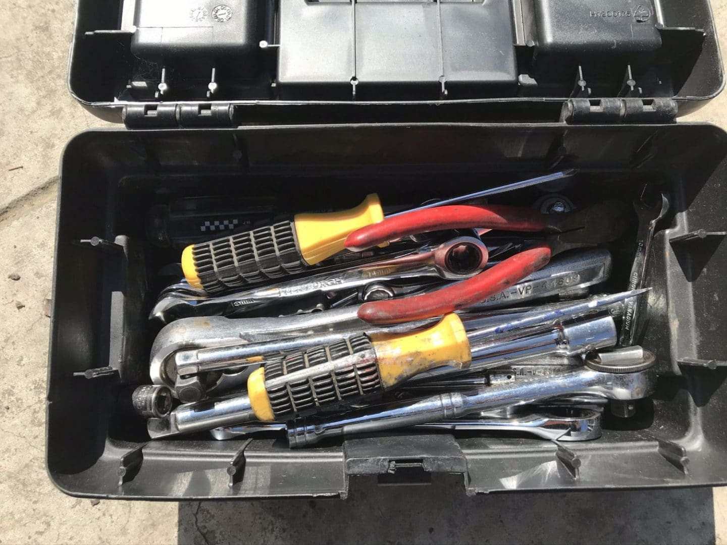 Tool Box Photo From Milky Way Photography Safety and Security Tips, Copyright 2020 Stanley Harper