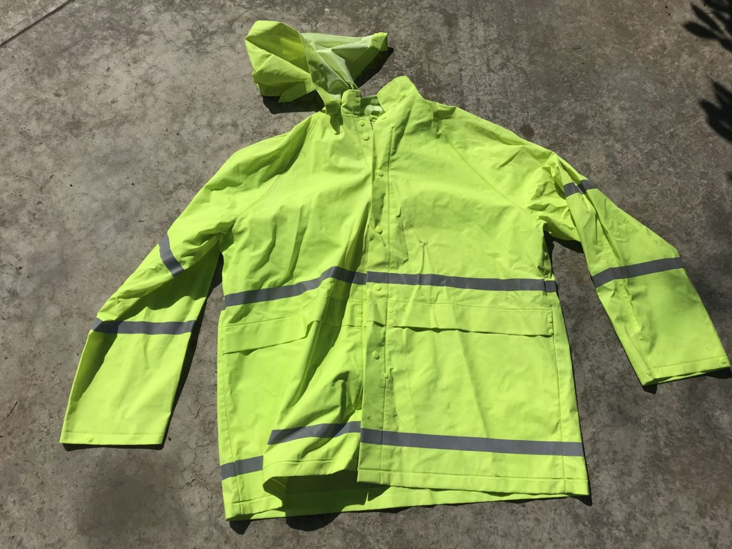Rain Jacket Photo From Milky Way Photography Safety and Security Tips, Copyright 2020 Stanley Harper
