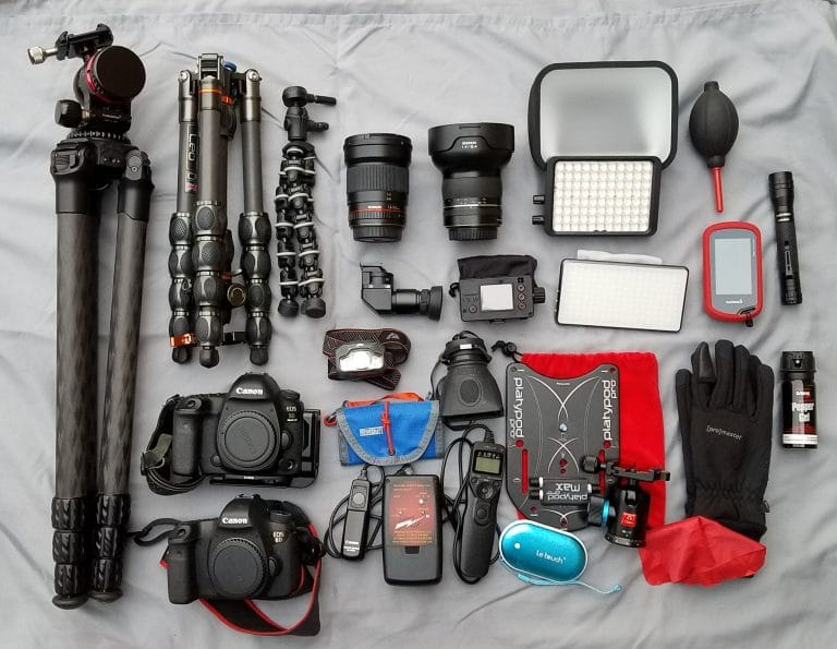 What's In My Camera Bag #2 – Milky Way Edition