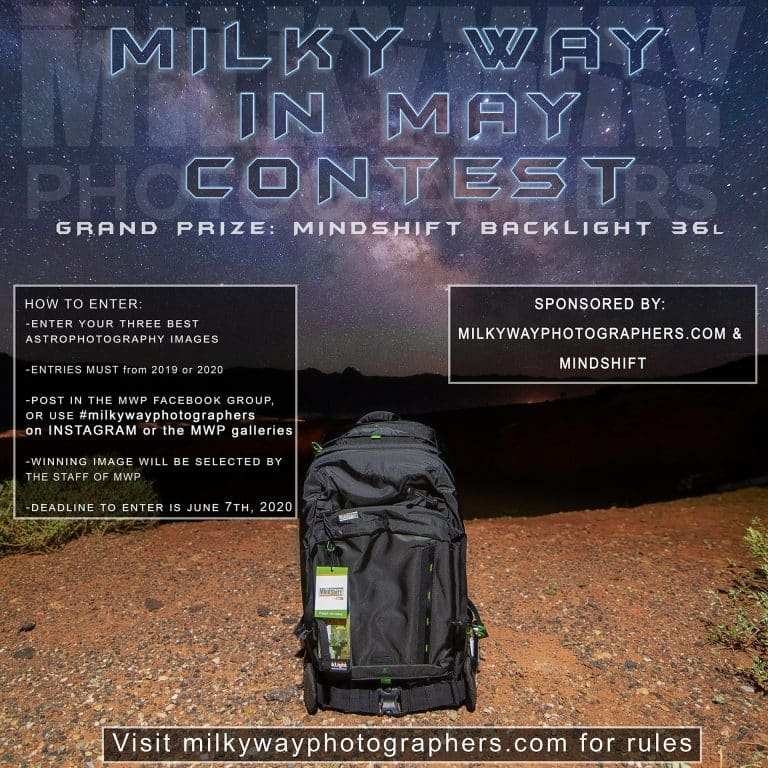 Milky Way in May – MindShift Backpack Giveaway Part Four