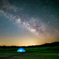 Meteor Shower at the Prairie