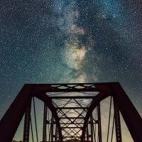 Guffey Bridge-Vertical Pano