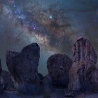 Rocky Milky Way