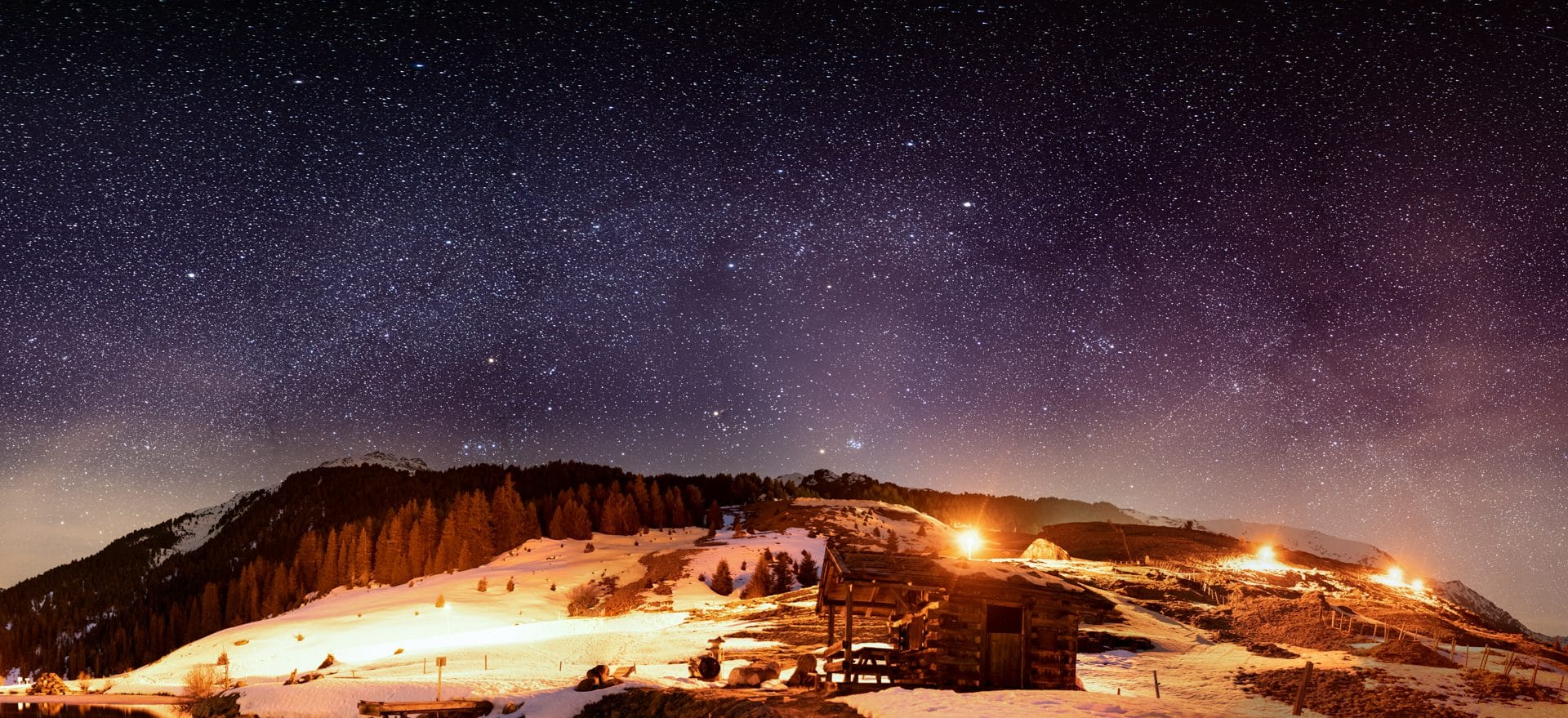Winther milkyway in Praxmar