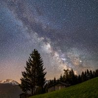 MAY MILKYWAY Core in Stieglreith