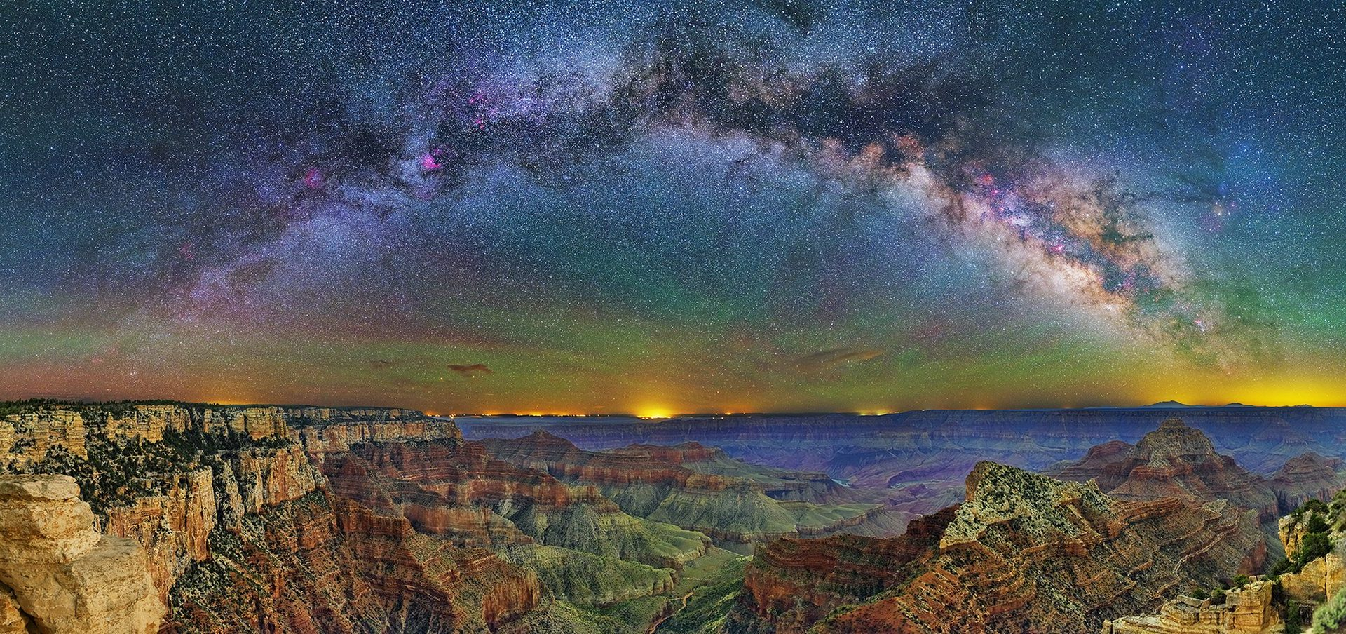 River of Stars – Chasm Foreground