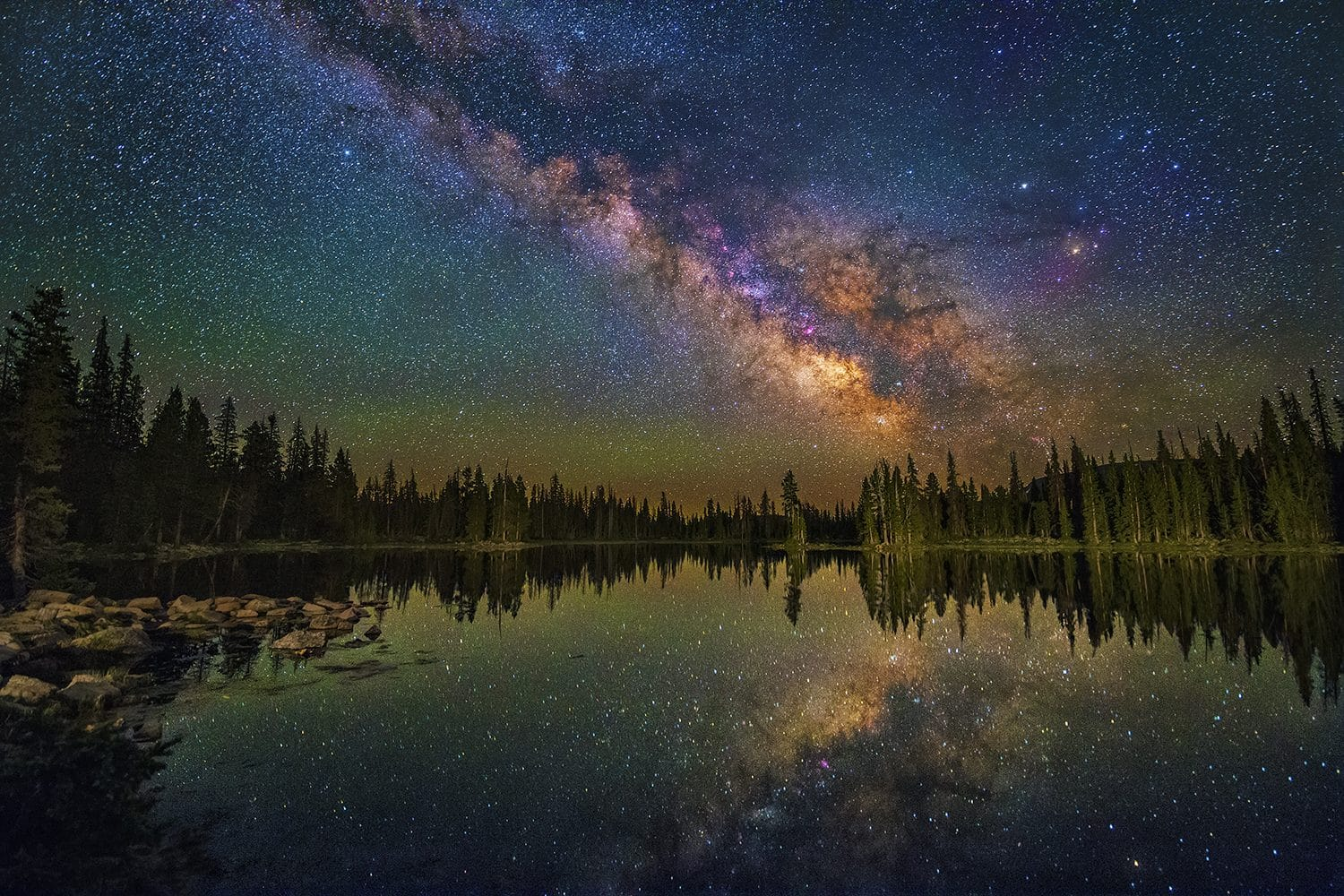 Reflecting the Universe – Water Foreground