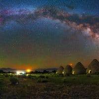 Ward Charcoal Ovens – Panorama Milky Way