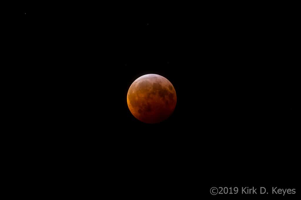 Total Lunar Eclipse, 20 January 2019
