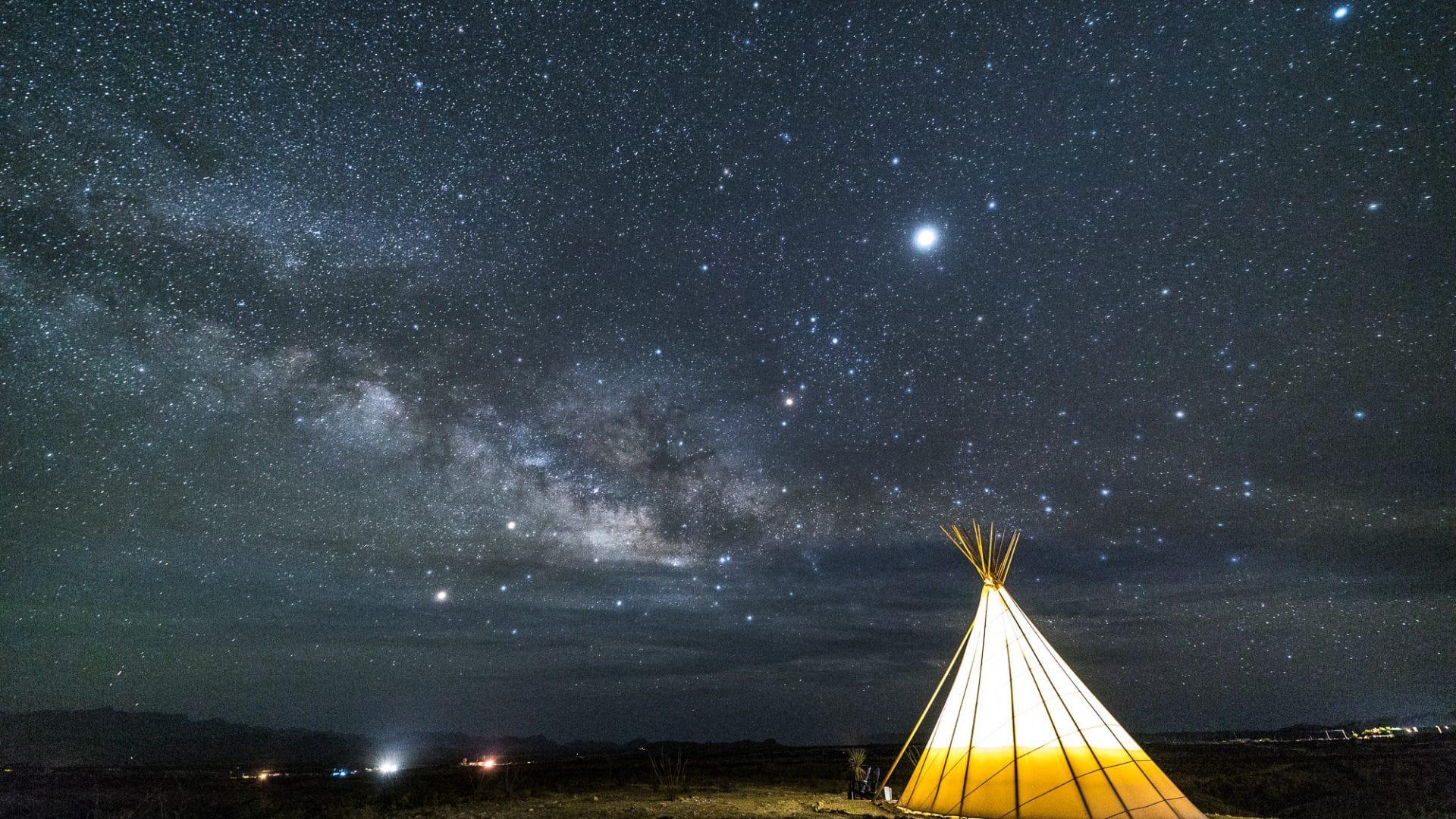 Terlingua, Texas Teepee